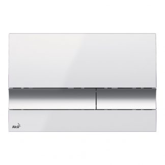 Alca Plast - M1720-1 biela - chrom lesk
