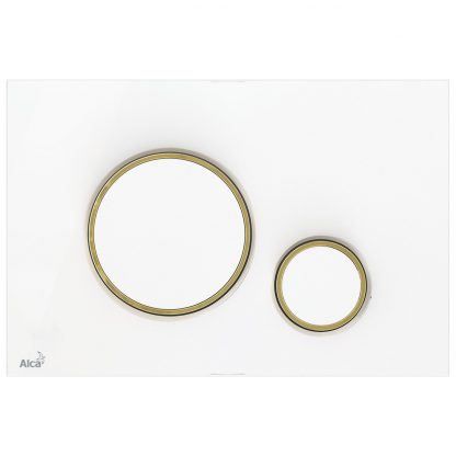 Alca Plast - M775 biela / zlatá