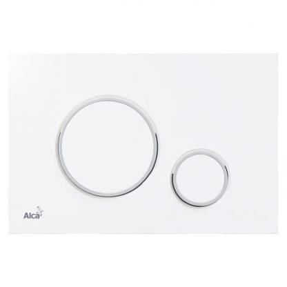 Alca Plast - M776 biela mat / chróm