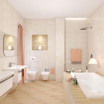 Kúpeľne Ceramika Color - Luxor Cream