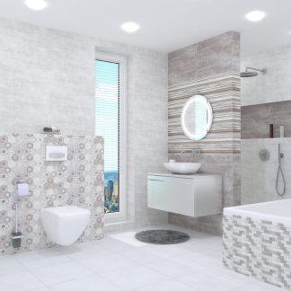 Kúpeľne Ceramika Color - Modern Wall