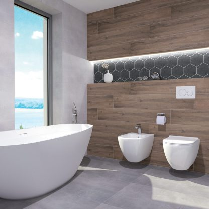Kúpeľne a dlažba Ceramika Color - Stark