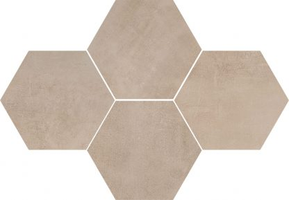 Ceramika Color - Stark Mosaic Hexagon Beige