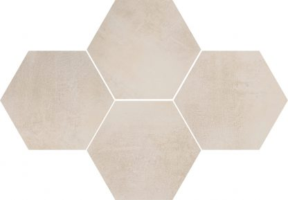 Ceramika Color - Stark Mosaic Hexagon Cream