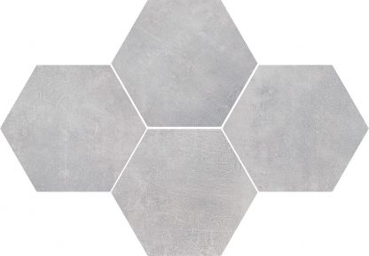 Ceramika Color - Stark Mosaic Hexagon White