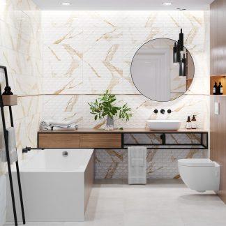 Kúpeľne Ceramika Color - Statuario Gold
