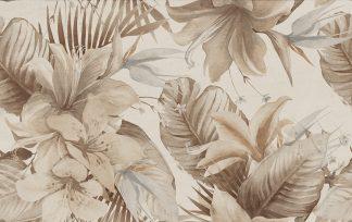 Ceramika Color - Stella - STELLA FLOWER BROWN DEKOR