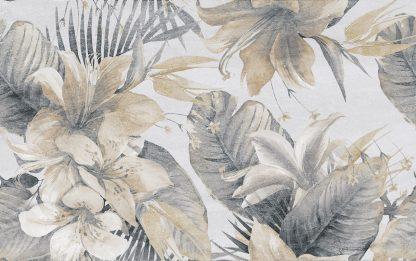 Ceramika Color - Stella - STELLA FLOWER GREY DEKOR