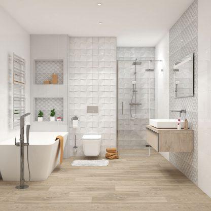 Kúpeľne Ceramika Color - Struktury