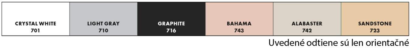 Ceresit CE79 - farebné odtiene