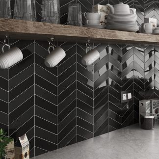 Kúpeľne a kuchyne Equipe - Chevron Wall