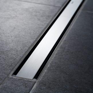 Geberit CleanLine60 tmavy kov bruseny kov 90 cm
