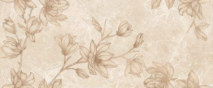 Gorenje Keramika - Nice - BEIGE DC FLOWER