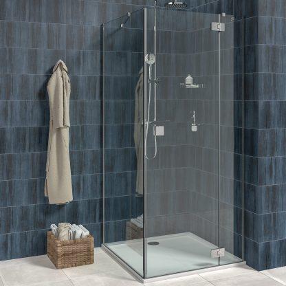 Jika Pure - sprchove dvere, pevna stena