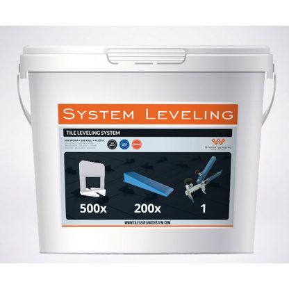 KS Line - vyrovnavaci system Leveling vedro 500-200-1