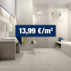Kúpeľne Keramika Kanjiža - Limestone (akcia)