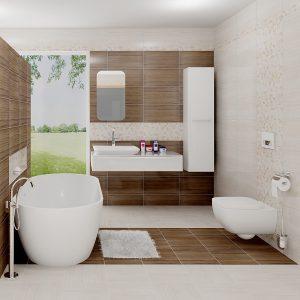 Kúpeľne Keramika Kanjiža - Wood Stone