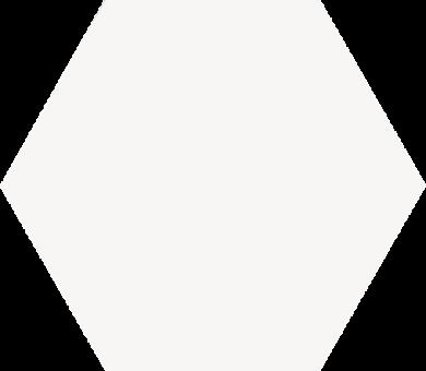 Keramika Modus - Element HEX PENCIL WHITE
