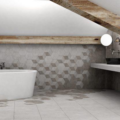 Kúpeľne Keramika Modus - Pietra Hex