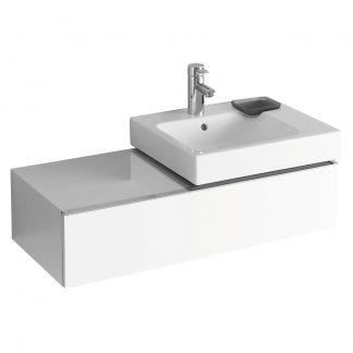 Kolo iCon - skrinka umyvadlo 89 cm biela leskla