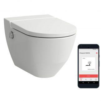 Laufen Cleanet NAVIA - WC závesné s diaľkovým ovládaním