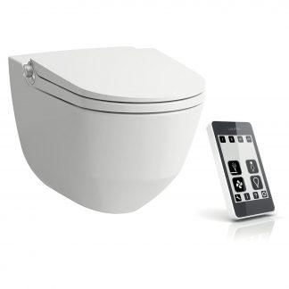 Laufen Cleanet RIVA - WC závesné s diaľkovým ovládaním