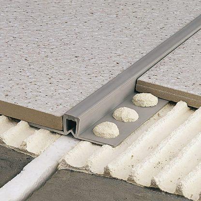 Lista dilatacna PVC siva