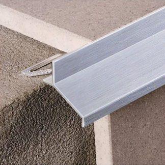 Lista rohova ukoncovacia - balkonova hlinik siva