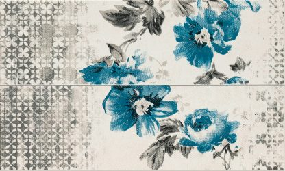 Marazzi Chroma - M07K DECORO FLOWER BLUE
