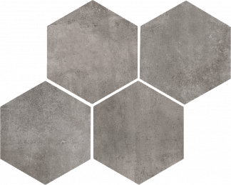 Marazzi Clays Hexagon - MM5P LAVA