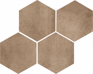 Marazzi Clays - Hexagon MM5Q EARTH