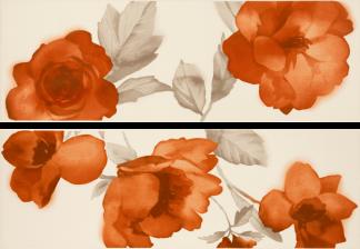 Marazzi Colourline - MLES DECORO IVORY/ORANGE