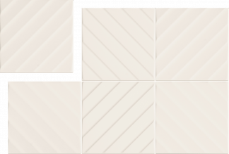 Marca Corona 4D - E062 DIAGONAL WHITE