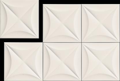 Marca Corona 4D - E063 FLOWER WHITE