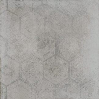 Porcelaingres De Tiles - Soft Concrete - HEXAGON IRON
