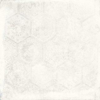 Porcelaingres De Tiles - Soft Concrete - HEXAGON WHITE