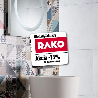 Dlažba Rako Cemento - zľava Rako -15%