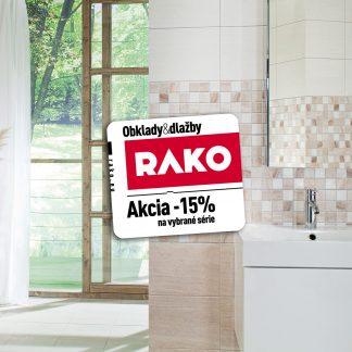 Kúpeľne Rako Lazio - zľava Rako -15%
