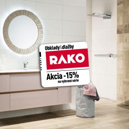 Kúpeľne Rako Saloon - zľava Rako -15%