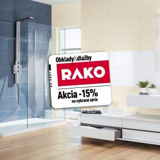 Kúpeľne Rako Up - zľava Rako -15%