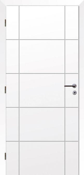 Solodoor Dvere - POLAR 17 biela polar
