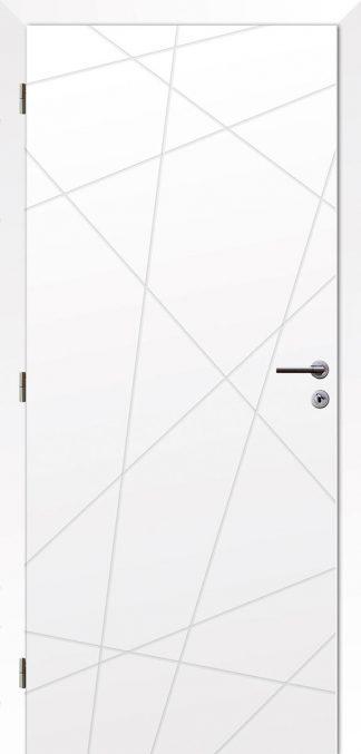 Solodoor Dvere - POLAR 9 biela polar
