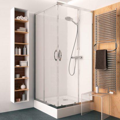 Sprchovy kut Kolo Rekord - stvorcovy, 80, 90