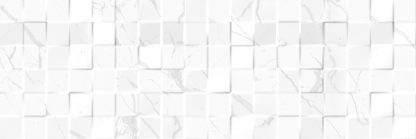 Square Affair - Luxor MOSAIC 3D WHITE