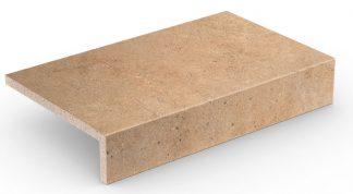 Stroher - glazované dlažby schody balkóny terasy - Keraplatte Gravel Blend 4815/961 BROWN