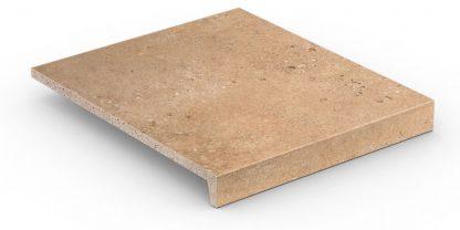 Stroher - glazované dlažby schody balkóny terasy - Keraplatte Gravel Blend 9430/961 BROWN