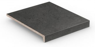 Stroher - glazované dlažby schody balkóny terasy - Keraplatte Gravel Blend 9430/963 BLACK