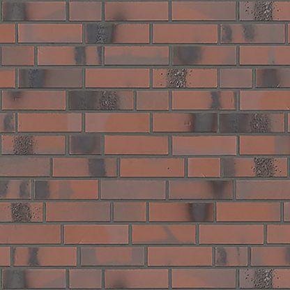 Stroher - fasádne obklady - Brickwerk - 8145/654 FLAMMENROT