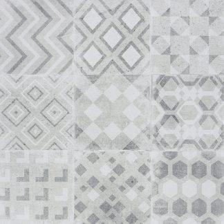 Tilezza Impressione - GRIGIO MAIOLICA 60x60