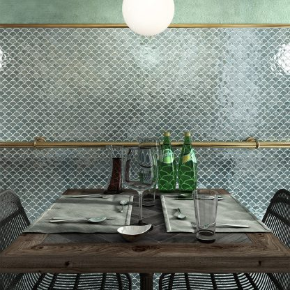 Kúpeľne - sklenená mozaika Vidrepur Soul